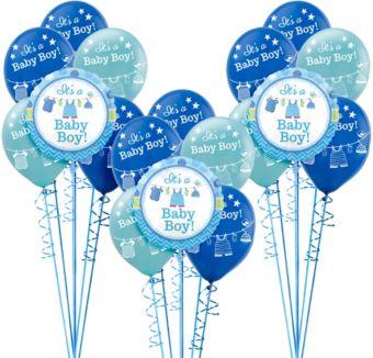 It's a Boy Boy Baby Shower Balloon Kit 18ct