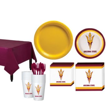 Arizona State Sun Devils Basic Party Kit for 16 Guests