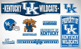 Kentucky Wildcats Dorm Room Kit