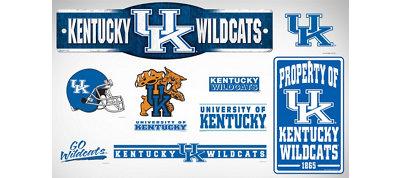 Kentucky Wildcats Dorm Room Kit