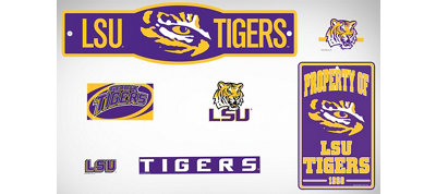 LSU Tigers Dorm Room Kit