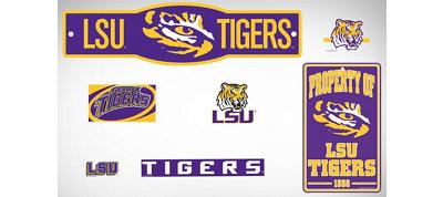 Louisiana State Tigers Dorm Room Kit