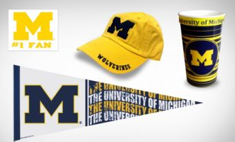 Michigan Wolverines Collegiate Care Package