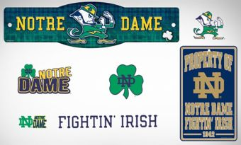 Notre Dame Fighting Irish Dorm Room Kit