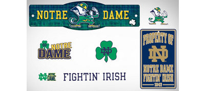 Notre Dame Fighting Irish Dorm Room Kit