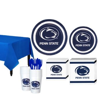 Penn State Nittany Lions Basic Party Kit for 16 Guests