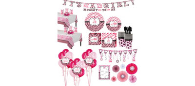 Baby Pink Safari Premium Kit 36 Guests