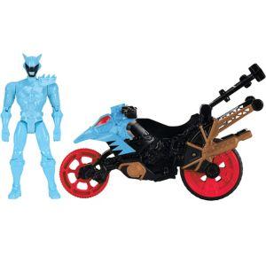Aqua Ranger Dino Stunt Bike Playset 2pc - Power Rangers Dino Super Charge