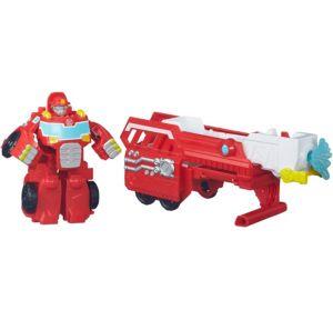 Rescue Bots Hook & Ladder Heatwave Playset 3pc - Transformers