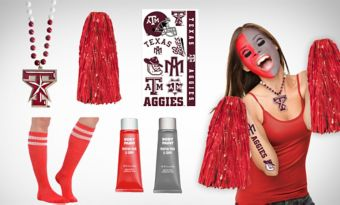 Texas A&M Aggies Fan Gear Kit