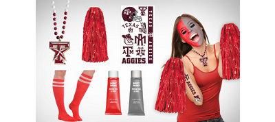 Texas A&M Aggies Fan Gear Kit