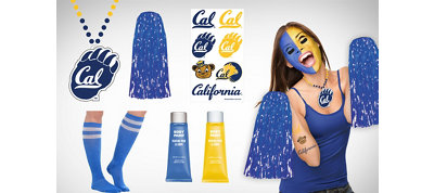 Cal Bears Fan Gear Kit