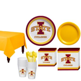 Iowa State Cyclones Basic Party Kit for 16 Guests
