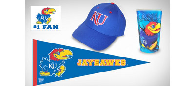 Kansas Jayhawks Collegiate Care Package