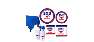 SMU Mustangs Basic Fan Kit
