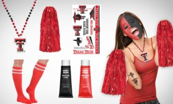 Texas Tech Red Raiders Fan Gear Kit