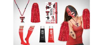 Texas Tech Red Raiders Fan Gear Kit