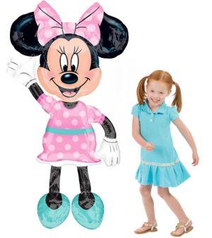 Giant Gliding Minnie Mouse Balloon