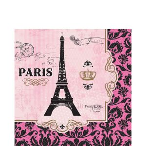 A Day in Paris Lunch Napkins 16ct