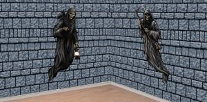 Haunted Dungeon Scene Setter Kit