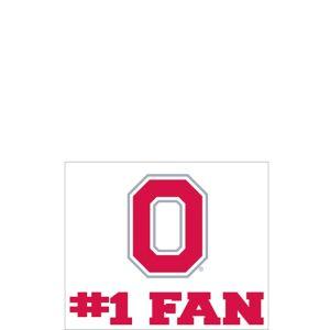 Ohio State Buckeyes #1 Fan Decal