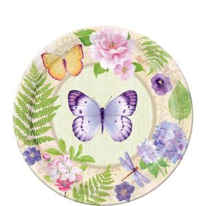 In the Garden Dessert Plates 8ct