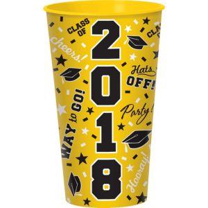 Yellow 2017 Graduation Cup