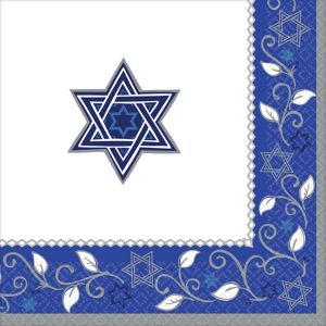 Joyous Holiday Passover Dinner Napkins 16ct