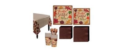 Autumn Tradiations Fall Tableware Kit for 36 Guests