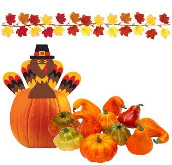 Fall Turkey Centerpiece Kit