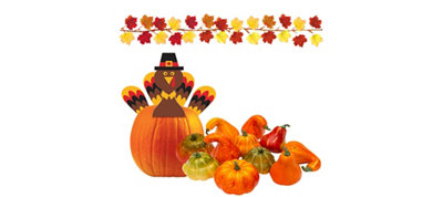 Fall Turkey Centerpiece Kit