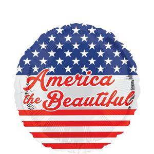 Patriotic America the Beautiful Balloon