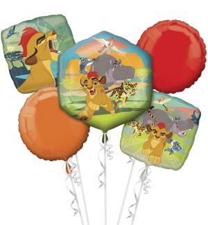 Lion Guard Balloon Bouquet 5pc