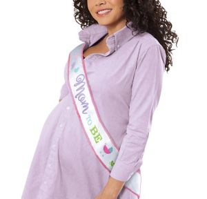 Mom-to-Be Sash