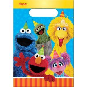 Sesame Street Favor Bags 8ct