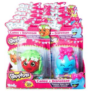 Radz Shopkins Candy Dispensers 12ct