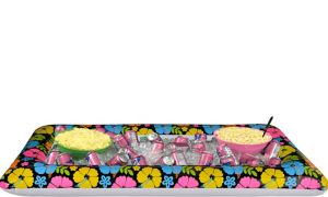 Neon Hibiscus Inflatable Buffet Cooler
