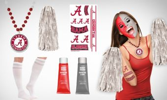 Alabama Crimson Tide Fan Gear Kit