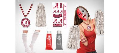 Alabama Crimson Tide Fan Gear Kit