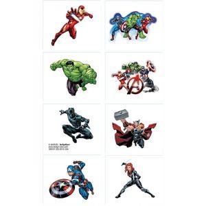 Avengers Tattoos 1 Sheet Party City