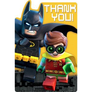 Lego Batman Movie Thank You Notes 8ct