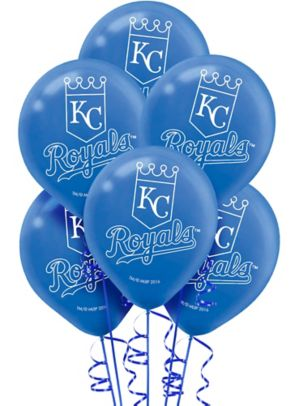 Kansas City Royals Balloons 6ct