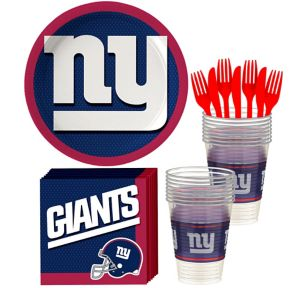 New York Giants Basic Party Kit for 18 Guests
