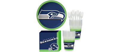 Seattle Seahawks Basic Party Kit for 18 Guests
