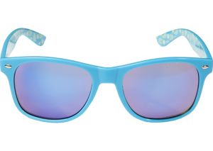 Blue Pineapple Mirrored Sunglasses