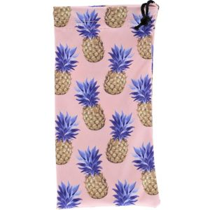 Pineapple Drawstring Sunglasses Pouch