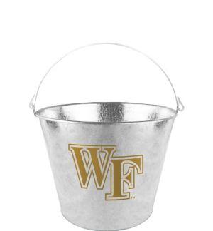 Wake Forest Demon Deacons Galvanized Bucket