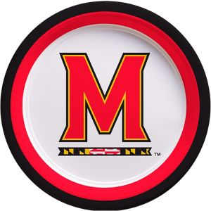Maryland Terrapins Lunch Plates 10ct