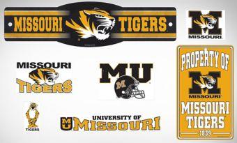 Missouri Tigers Dorm Room Kit