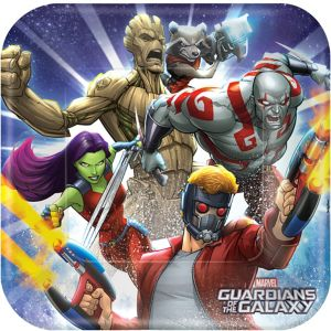 Guardians of the Galaxy Lunch Plates 8ct